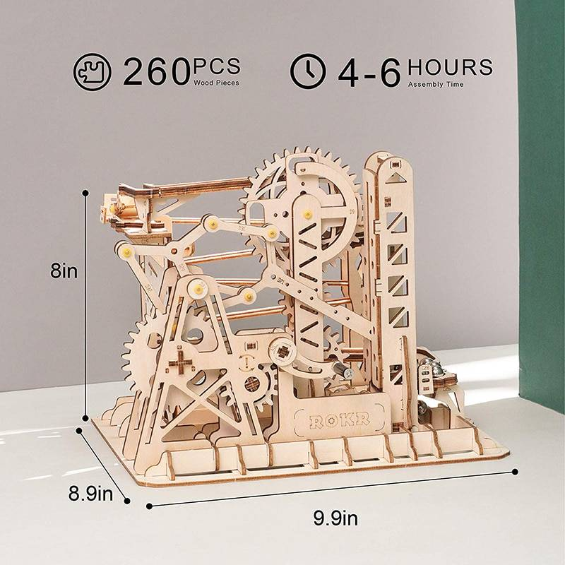 3D Marble Explorer Wooden Puzzle Kits Toy