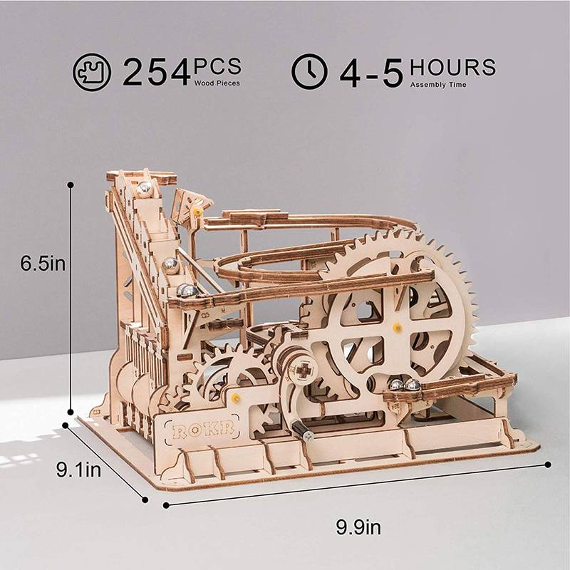 3D Tower Coaster Wooden Puzzle Kits Toy