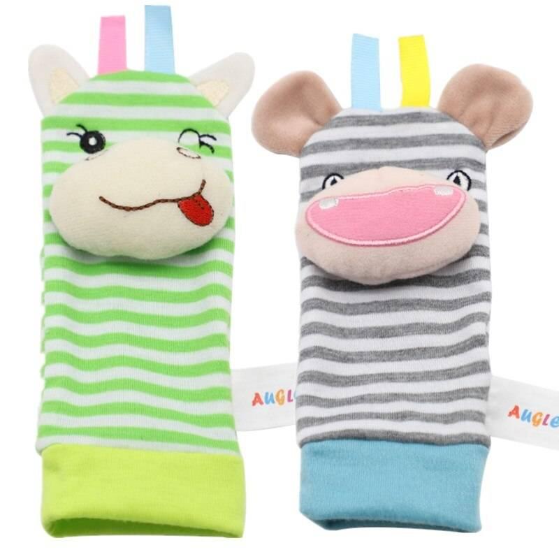 Socks Baby Rattle toy