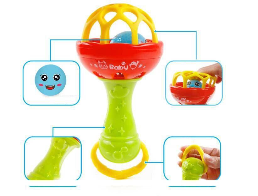 Educational Baby Rattle Toy