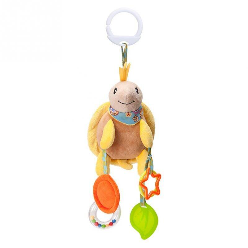 Cartoon Hanging Rattle Baby Toy