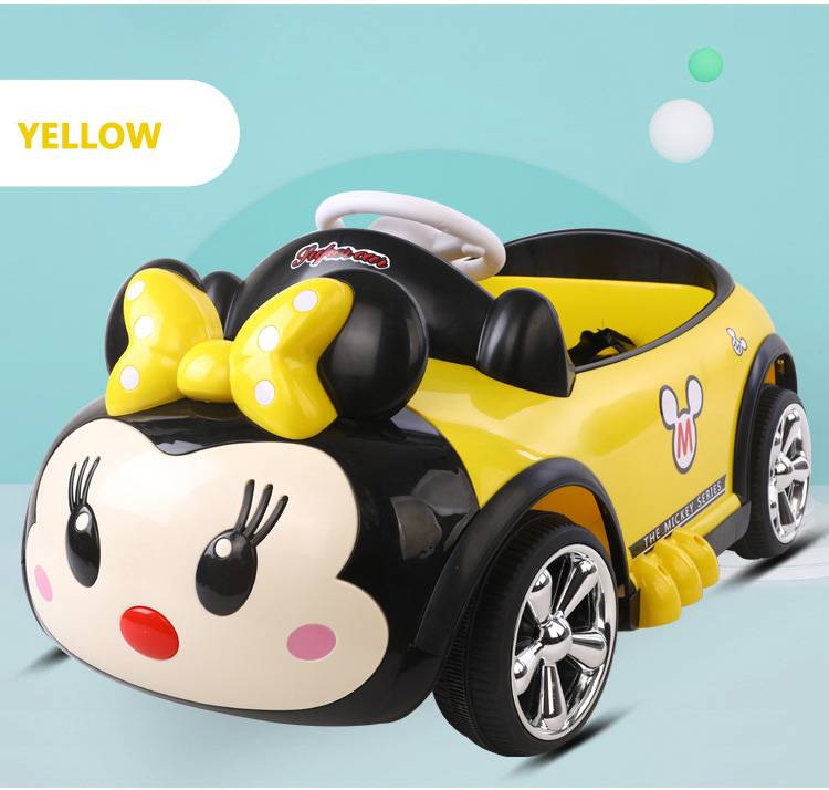 Cartoon Electric Ride On Car Toy For Children