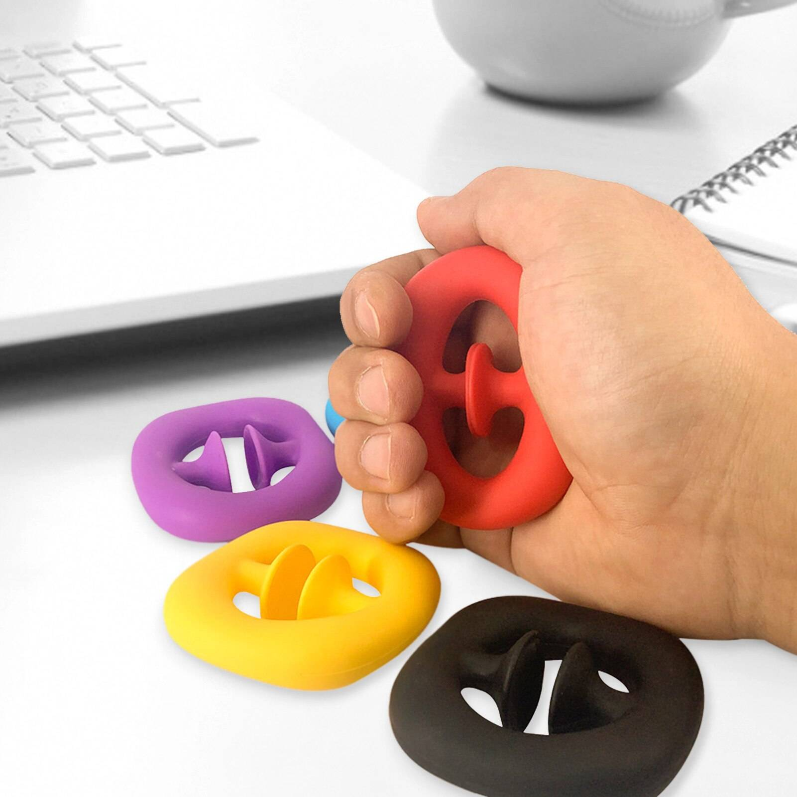 Suction Cup Decompression Grip Ball Fidget Toy Pack