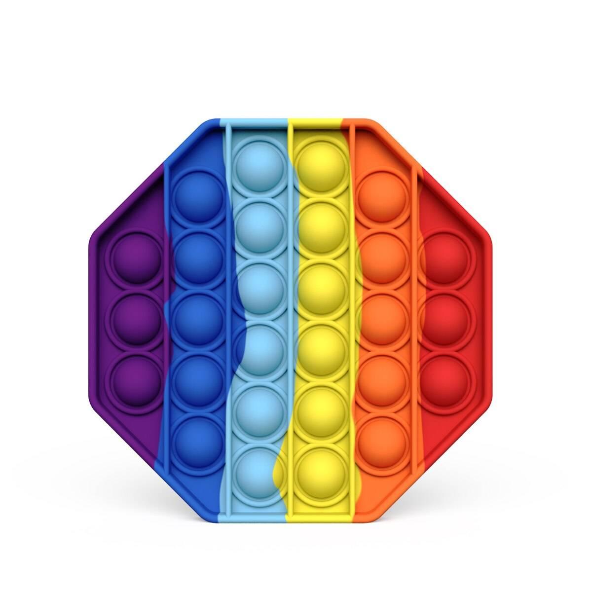 Rainbow Pop Antistress Fidget Toy Pack