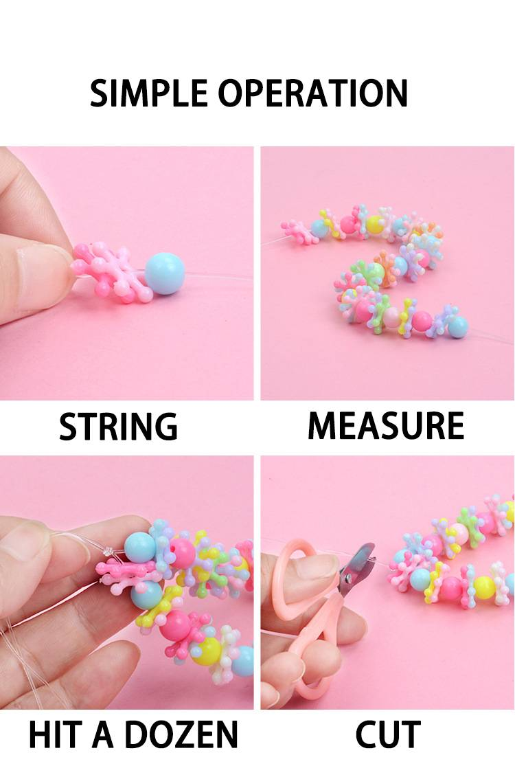 DIY Handmade Beaded Creative Toy Kit For Kids