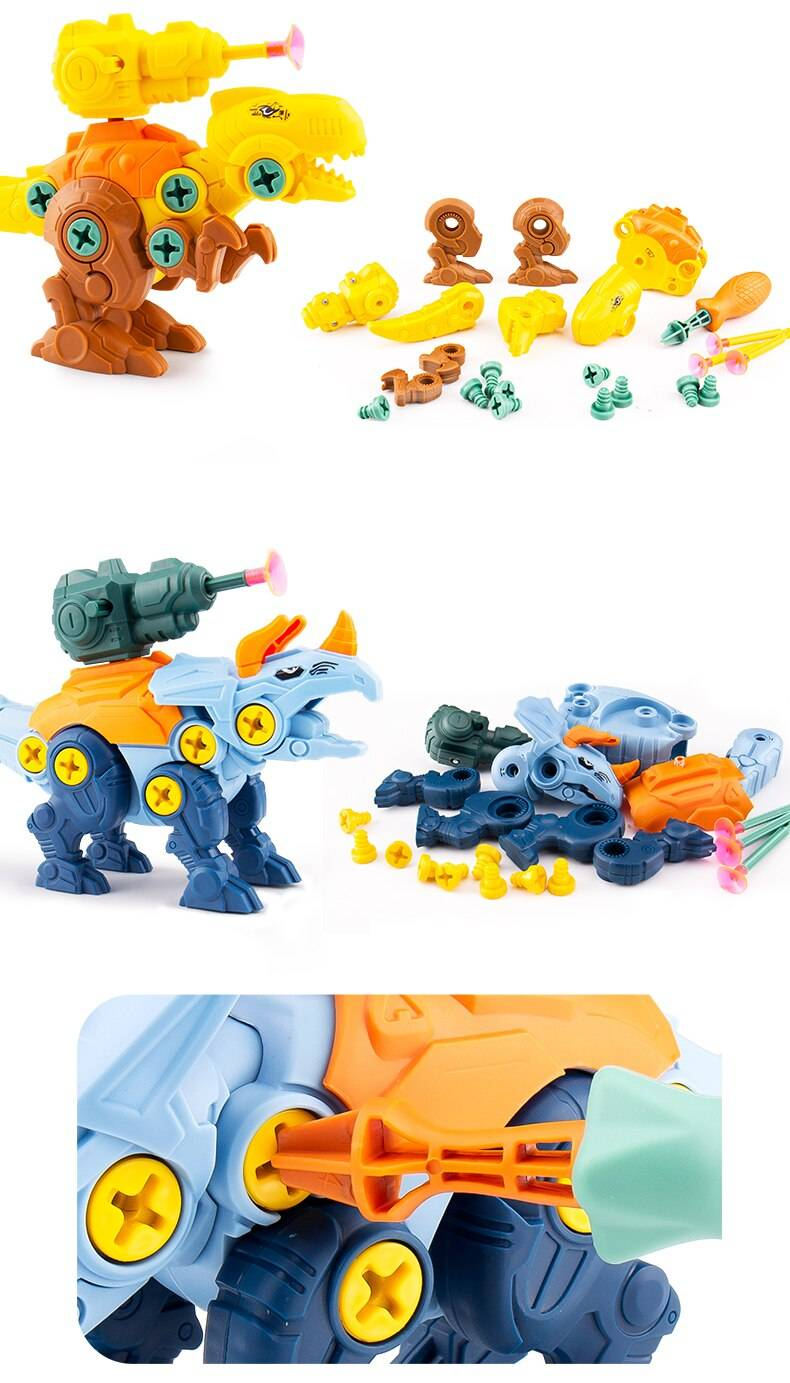 Dinosaur Puzzle Creative Toy For 3 Year Olds plus