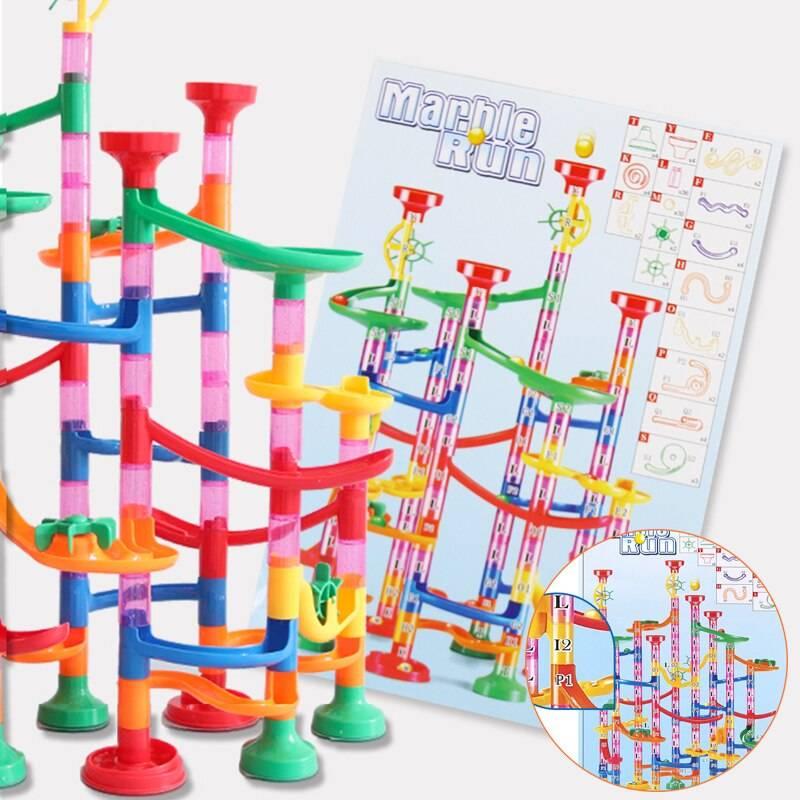 DIY Marble Balls Building Blocks Toy for Kids