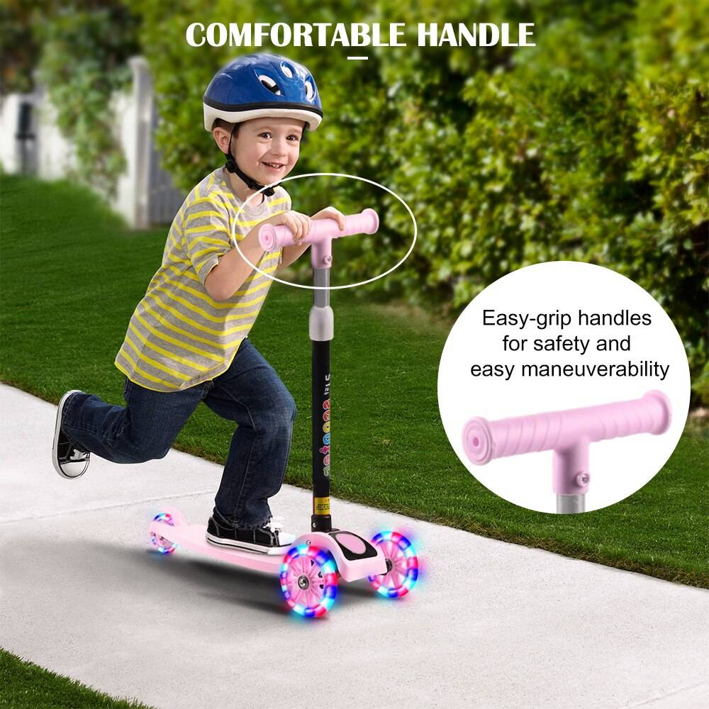 Unisex Adjustable Foot Scooter for Kids Toy