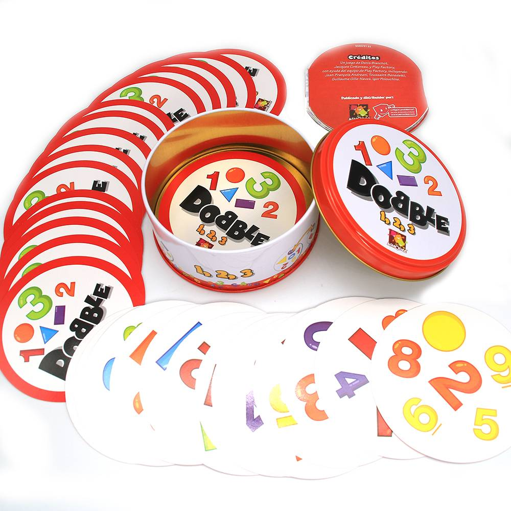 Funny High Quality Dobble Card Game