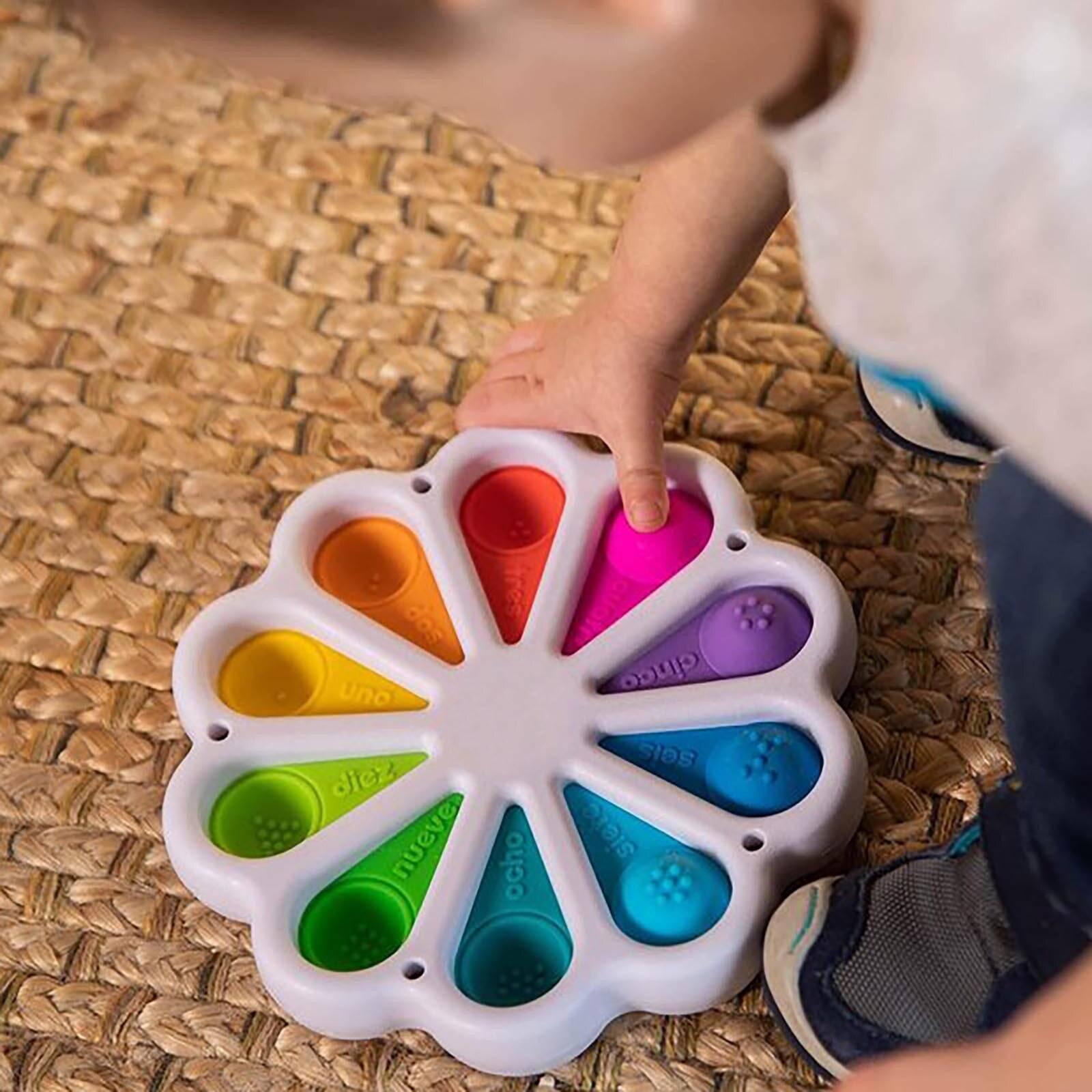 Simple Dimpl Digits Fidget Toy