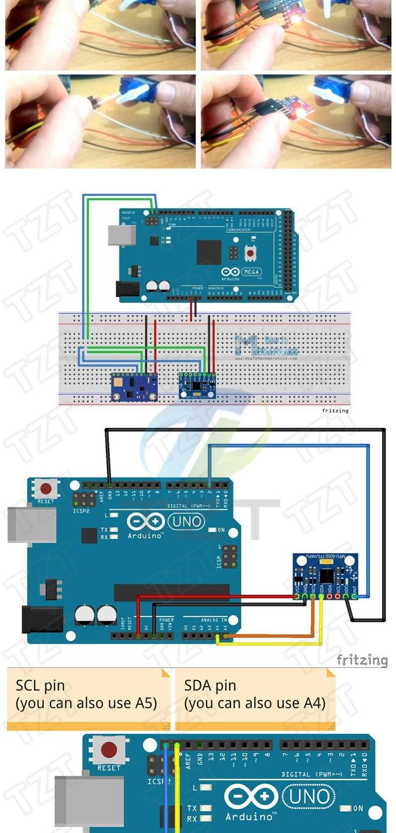 Sensors for Arduino UNO R3