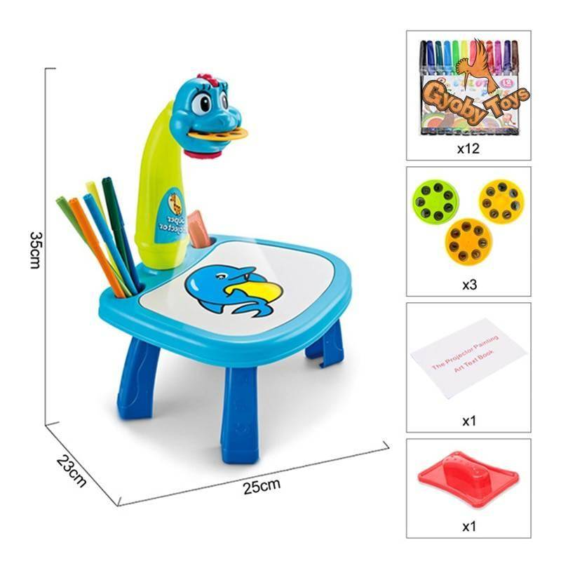 Led Projector Painting Art Drawing Board for Kids GYOBY® TOYS