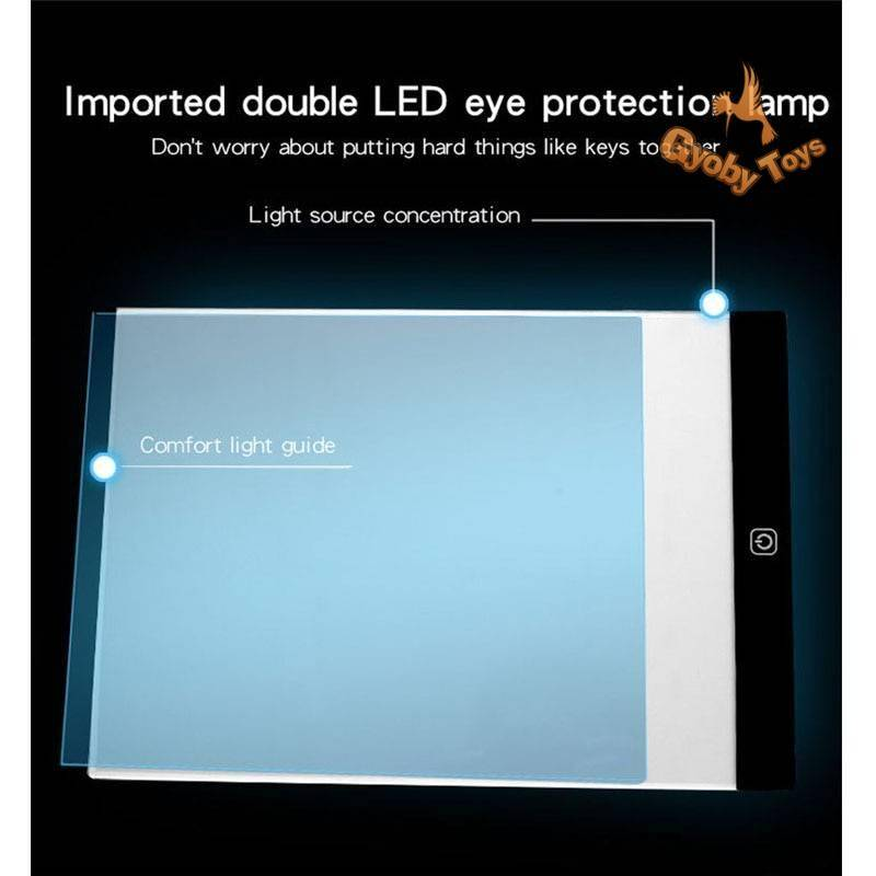 3 Level Dimmable Led Drawing Board for Kids GYOBY® TOYS
