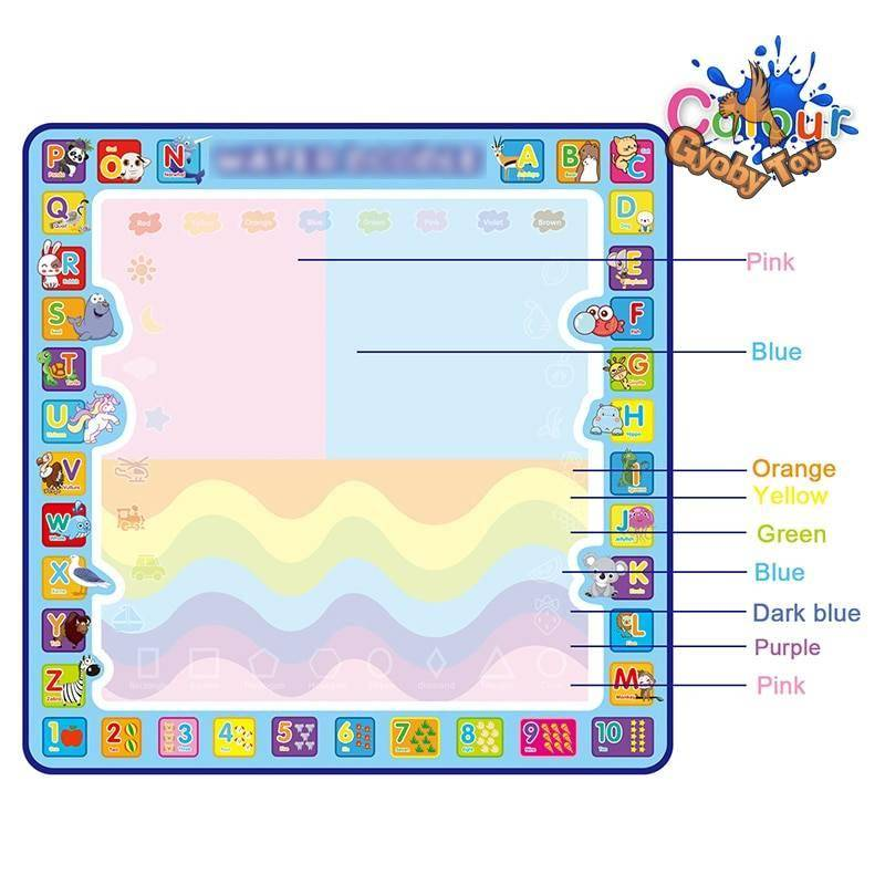 Cool play Magic Water Drawing Mat for Kids GYOBY® TOYS