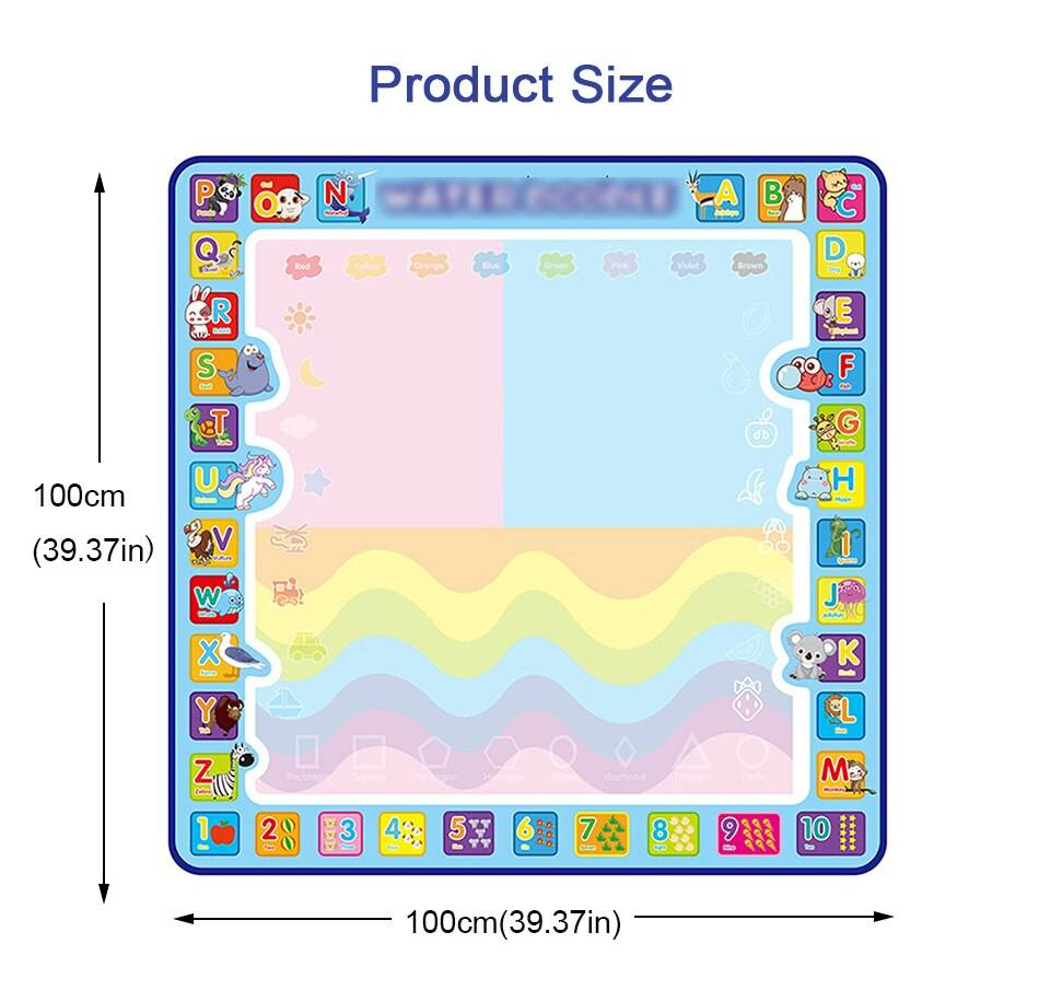 Cool play Magic Water Drawing Mat for Kids