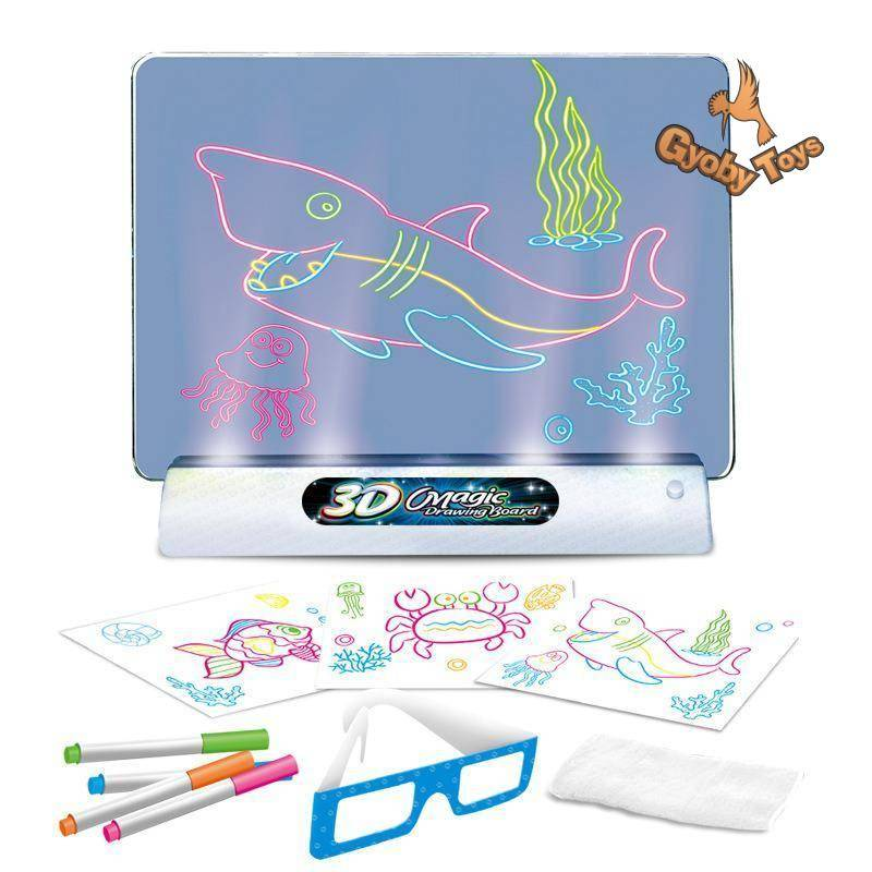 Soft Lighting Magic Drawing Board for Kids GYOBY® TOYS