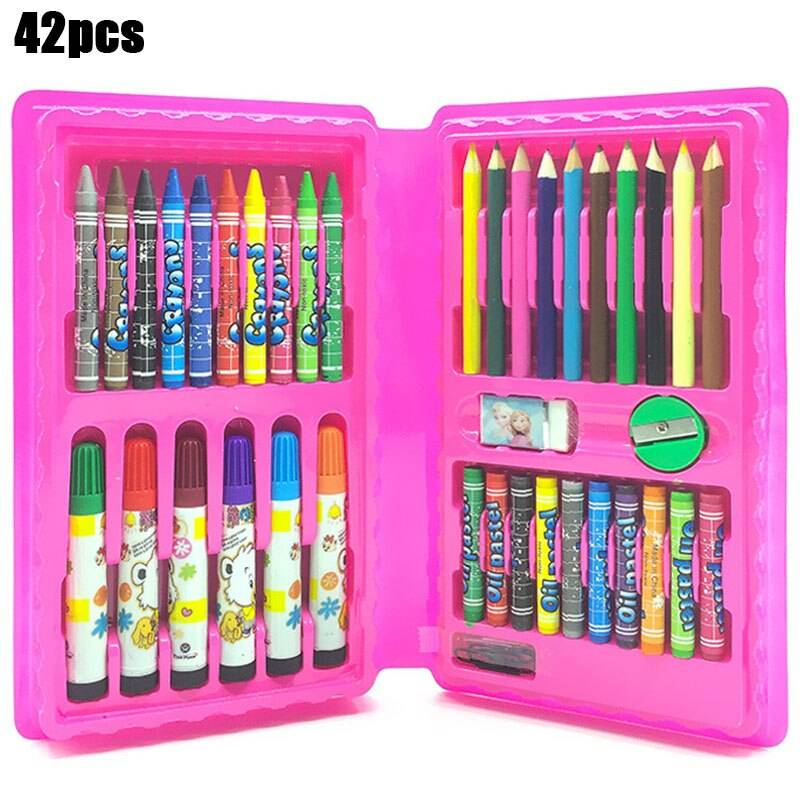 Drawing Board for Children with Watercolors Pens