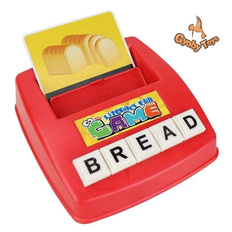 Letter Machine Alphabet Puzzle Educational Toy for Preschooler GYOBY® TOYS