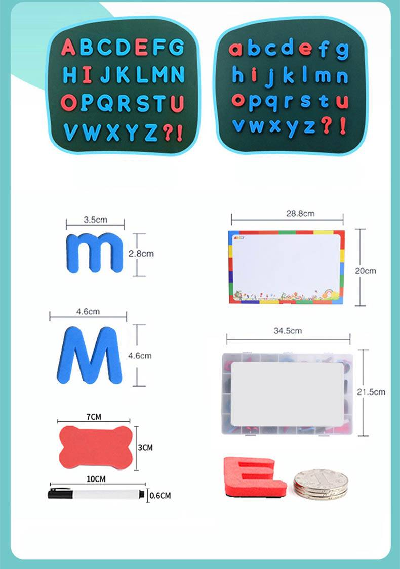 Magnetic Foam Alphabets Learning Letters Toy