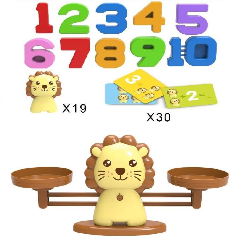 Educational Insights Number Balance Scale Math Toy