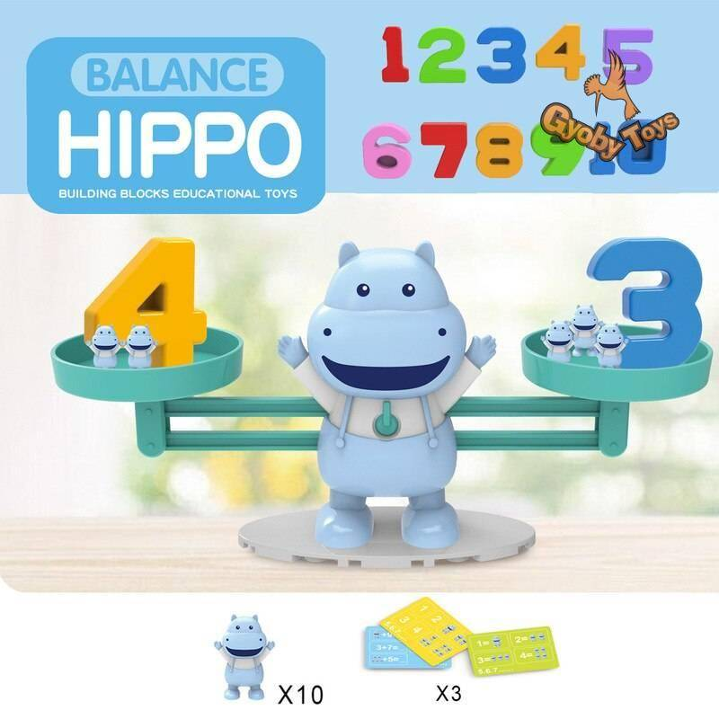 Educational Insights Number Balance Scale Math Toy GYOBY® TOYS
