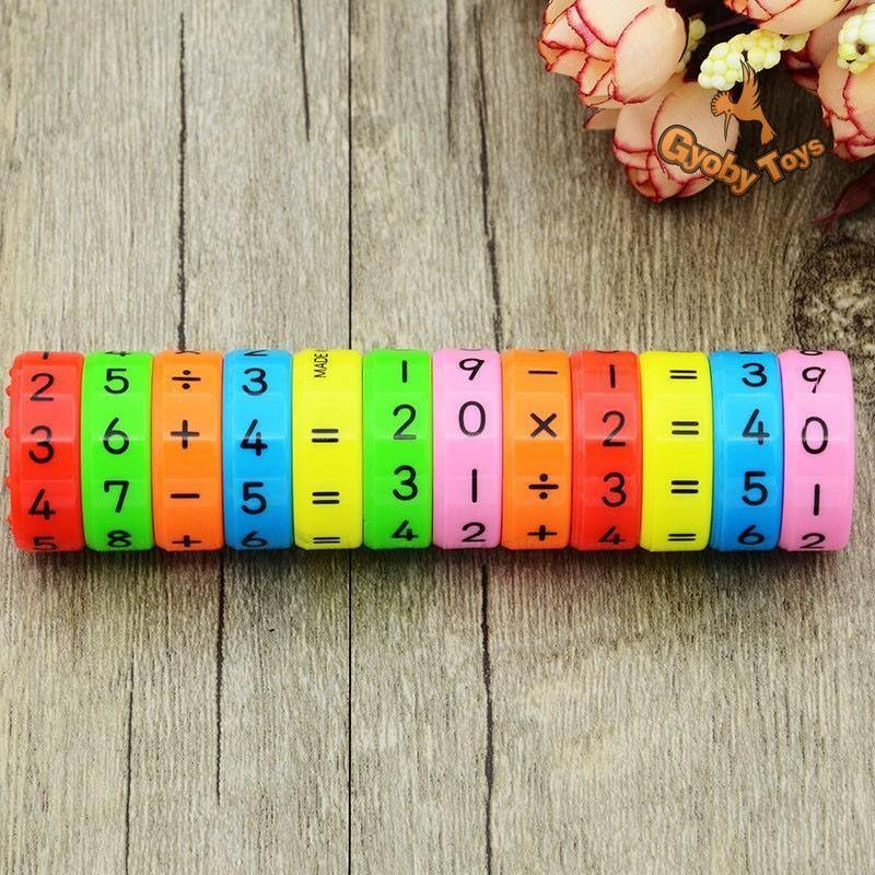 6 Pieces Magnetic Montessori Math Toy For Children GYOBY® TOYS