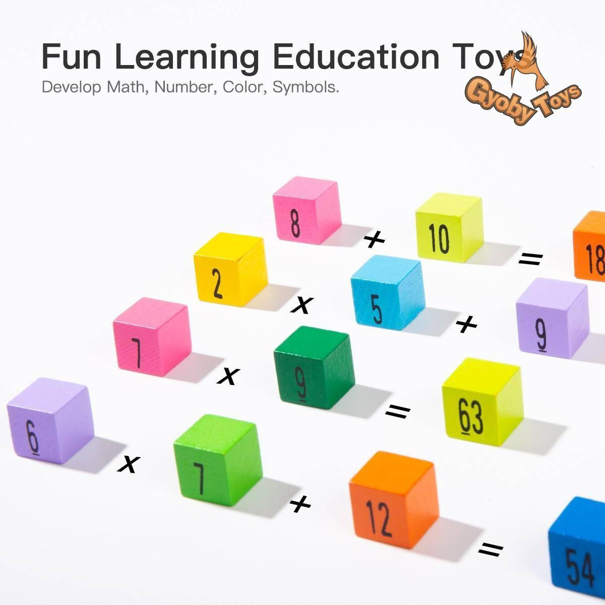 Wooden Educational Table Board Math Toy for Kids GYOBY® TOYS