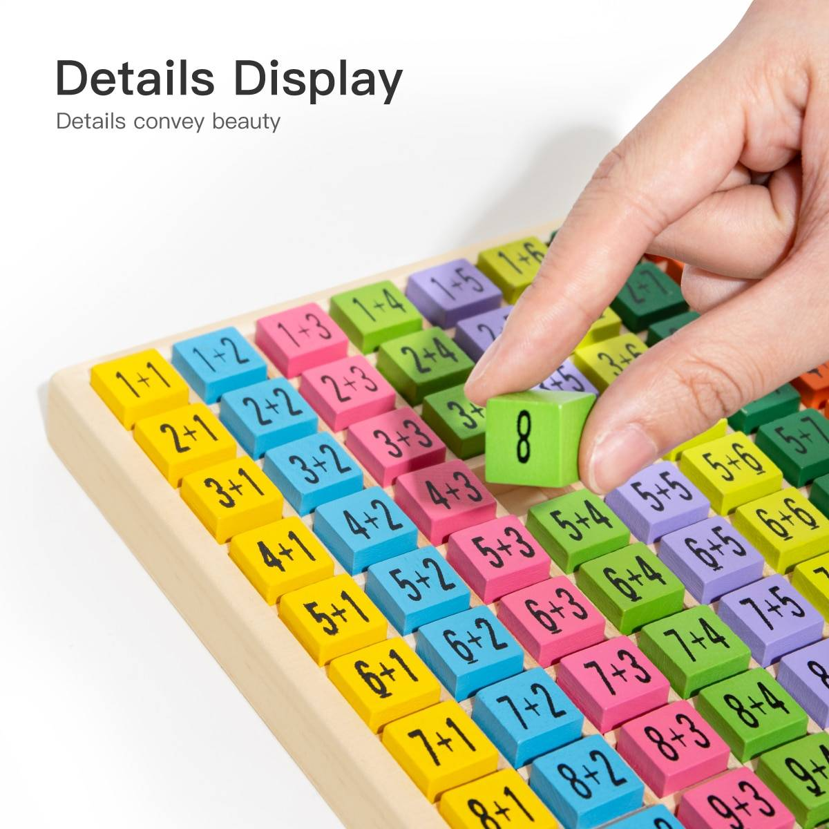Wooden Educational Table Board Math Toy for Kids