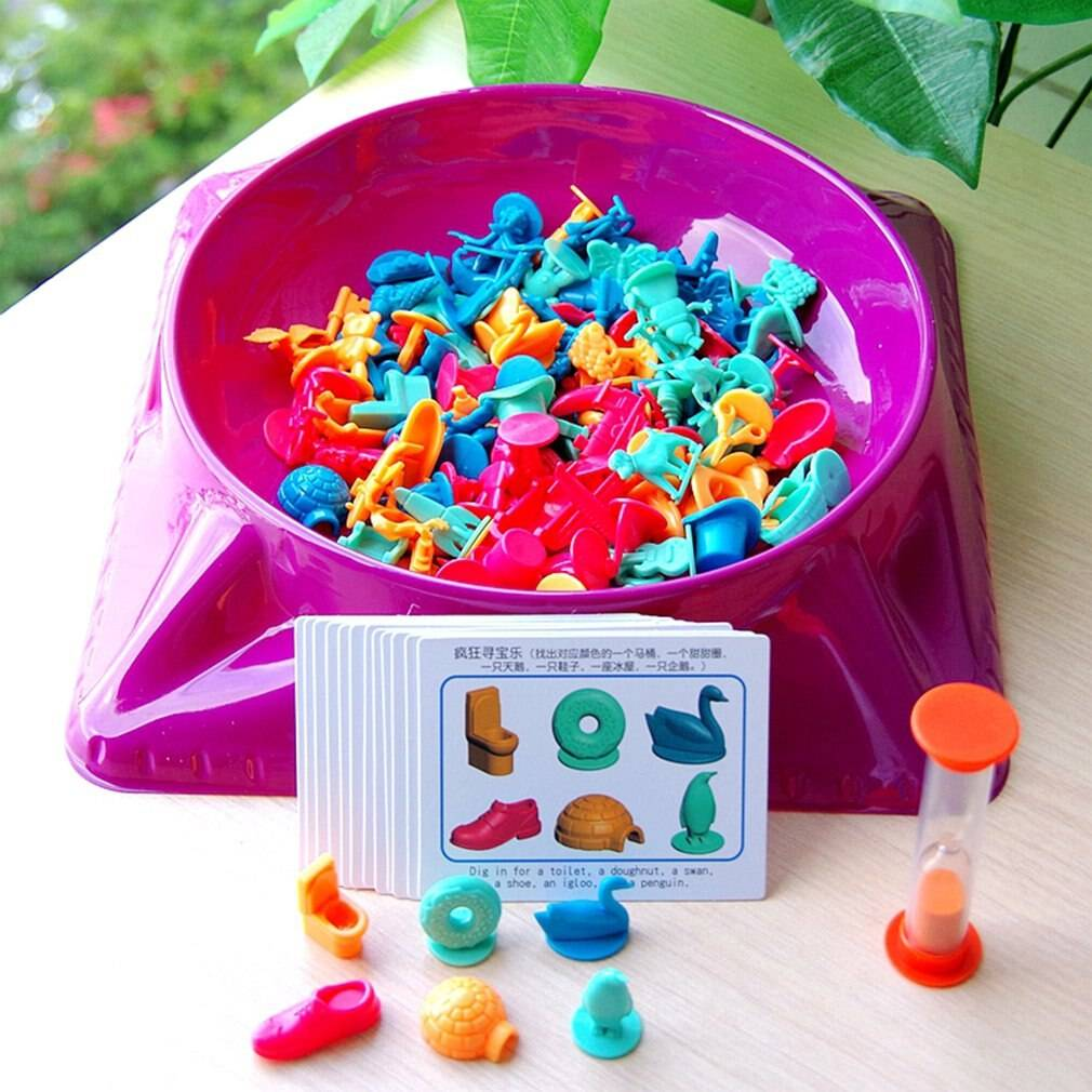 Treasure Hunting Toys Training Logical Thinking Parent-Child Early Education Family Party Board Game Toys For Children GYOBY® TOYS