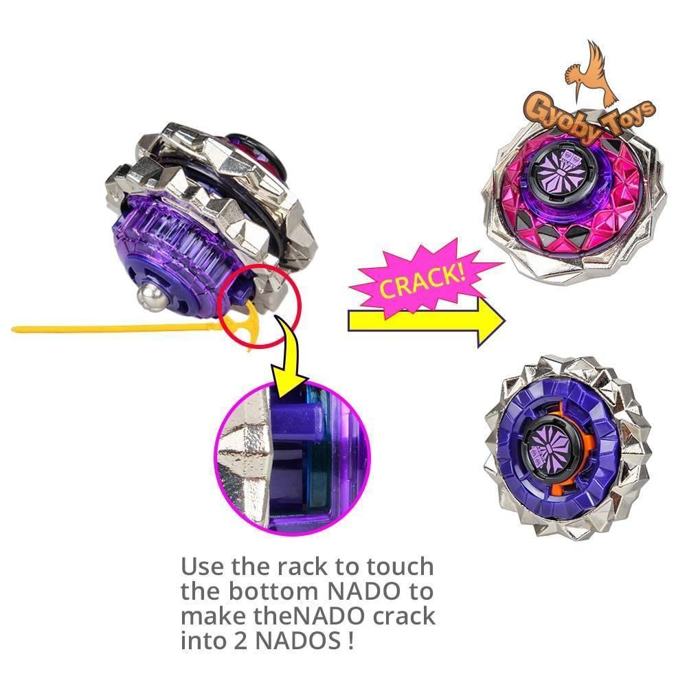 Infinity Nado 3 Crack Series Beyblade Toy GYOBY® TOYS