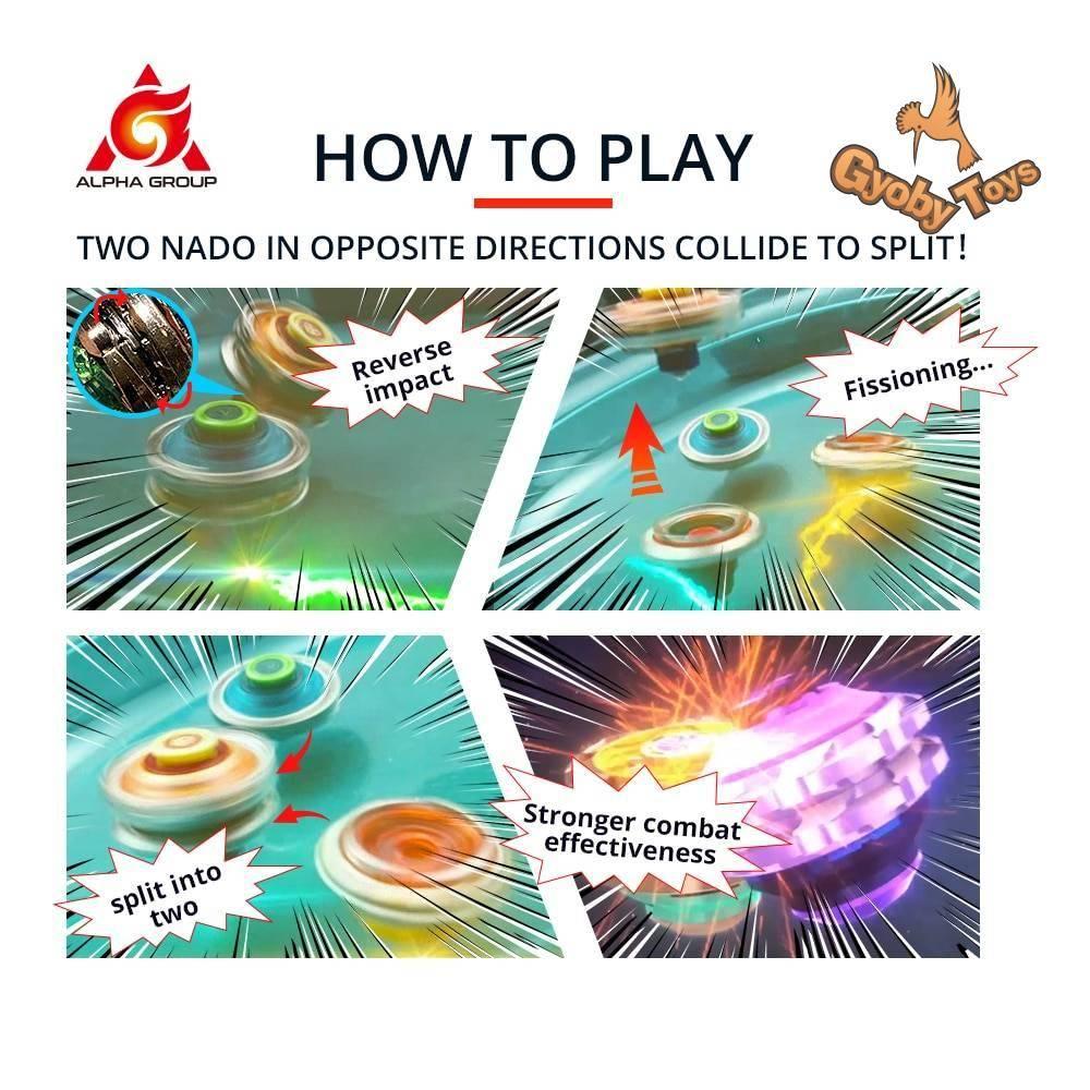 Infinity Nado 3 Stunt Set Beyblade Toy GYOBY® TOYS