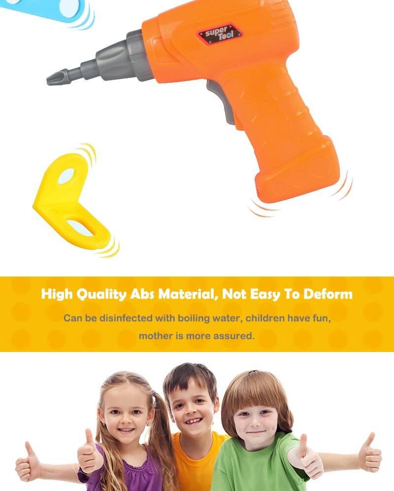 Creative Mosaic Drill Set Toy