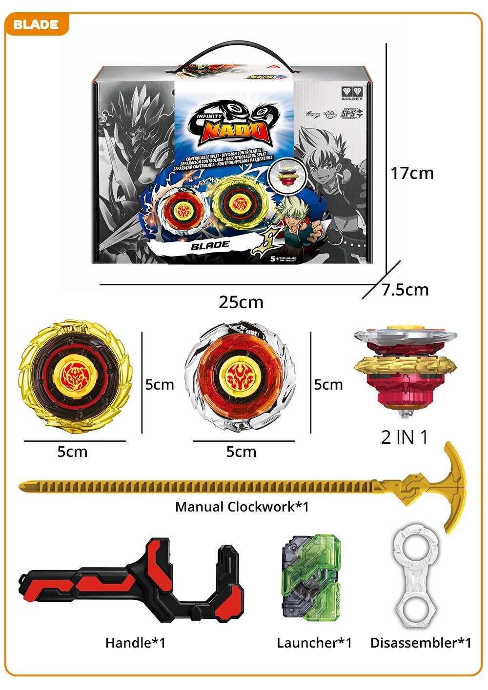 Infinity Nado 3 Crack Series Beyblade Toy
