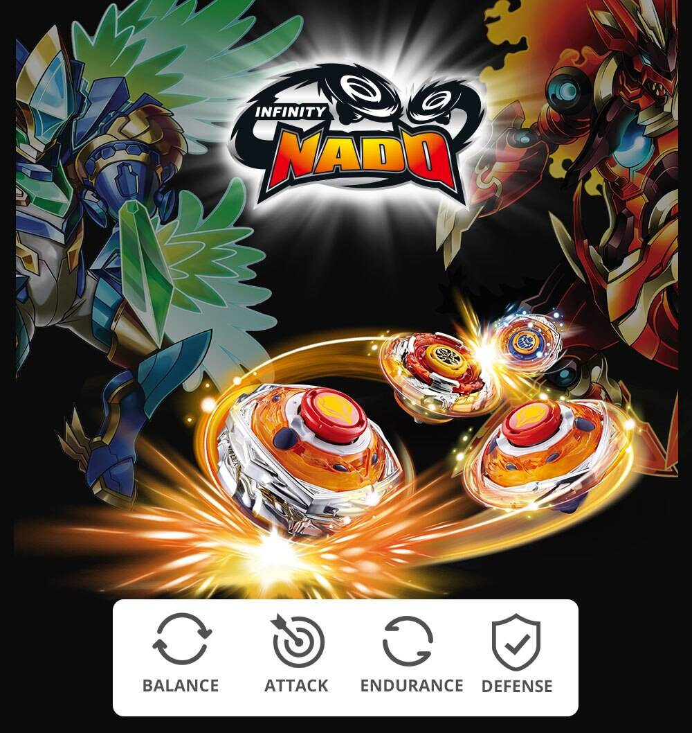 Infinity Nado 3 Stunt Set Beyblade Toy