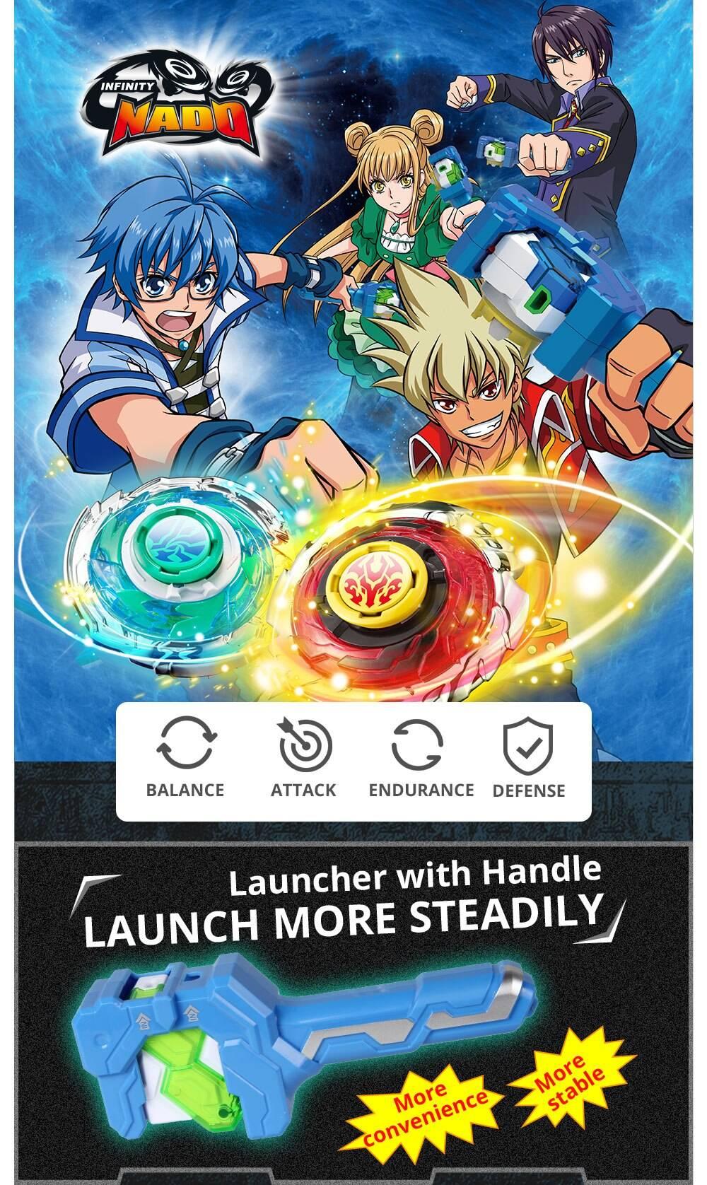 Infinity Nado Athletic Series Beyblade Toy