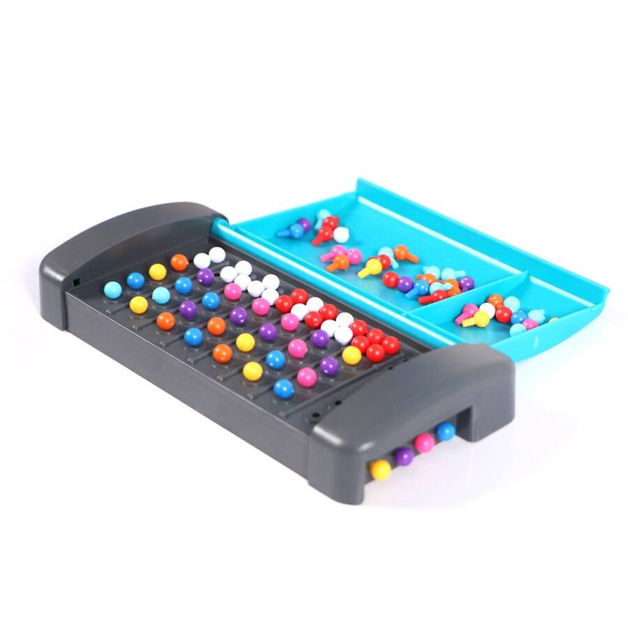 Montessori Code Breaking Mini Board Game Traveling Toy for Family Children Educational Intellectual Puzzle Toys