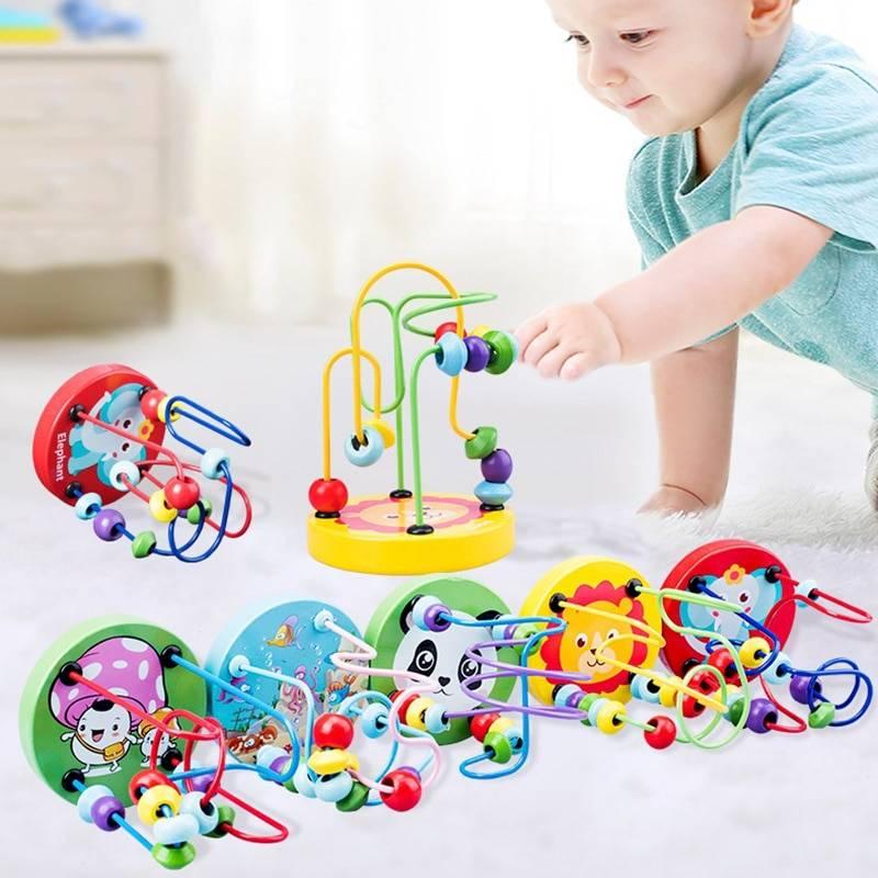 Montessori Wooden Circle Maze GYOBY® TOYS