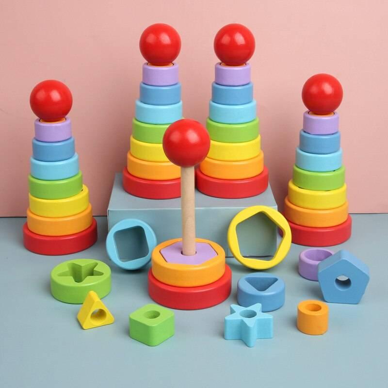 Montessori Wooden Circle Maze