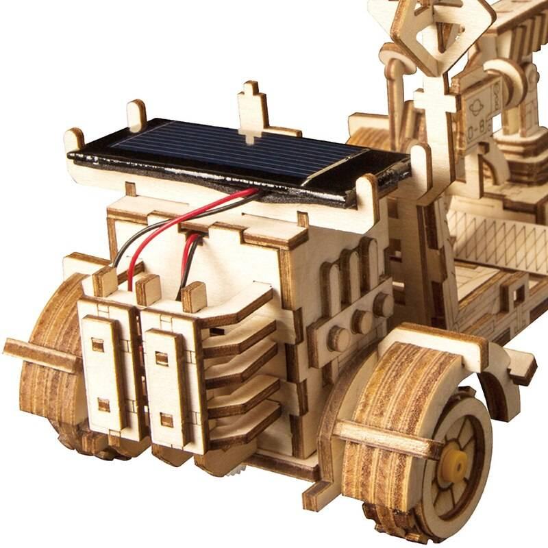 Solar Energy 3D Wooden Puzzle Kit Toys